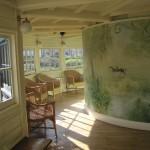 The garden room at the Geffrye